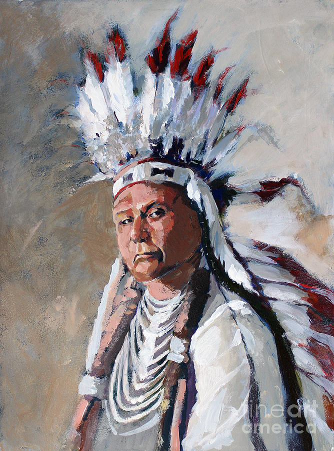 Chief Joseph by Synnove Pettersen