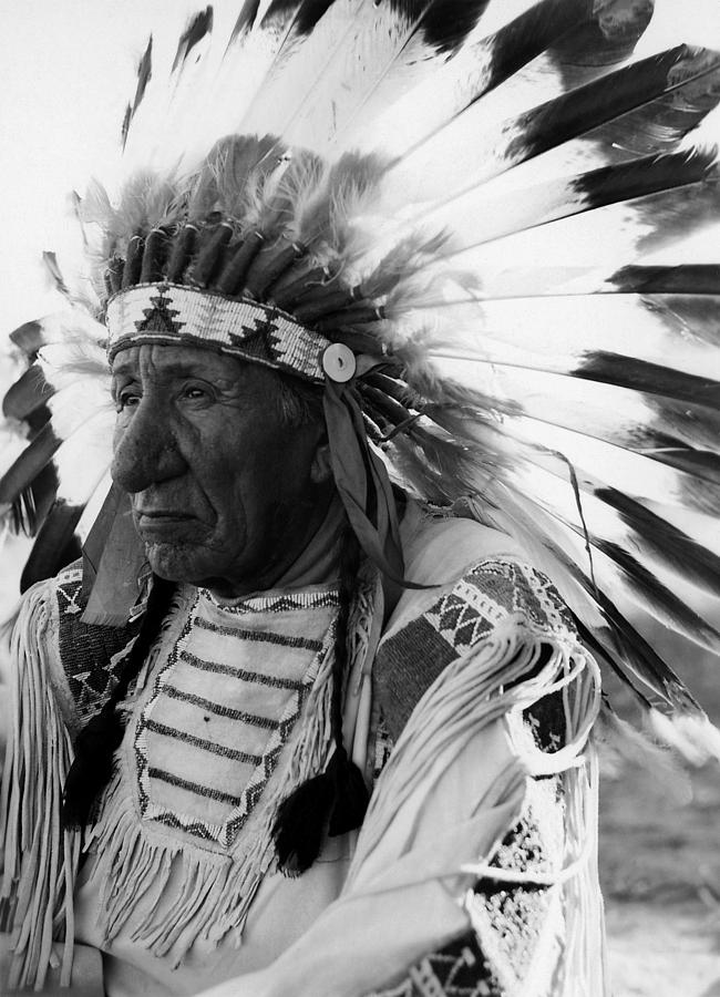 Red Cloud Photograph - Chief Red Cloud by War Is Hell Store