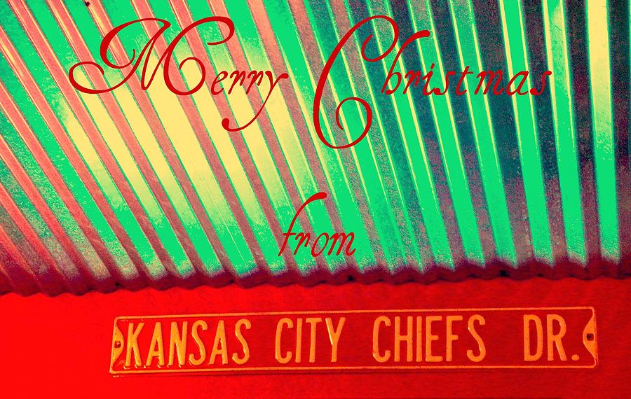 Christmas Photograph - Chiefs Christmas by Chris Berry