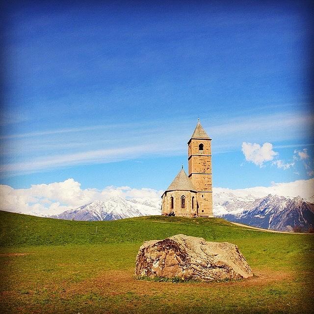 Chiesa Photograph - Chiesetta Di Santa Caterina by Luisa Azzolini