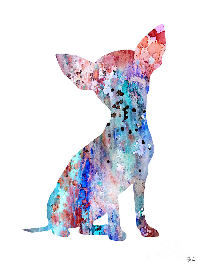 Chihuahua 8 Painting By Watercolor Girl