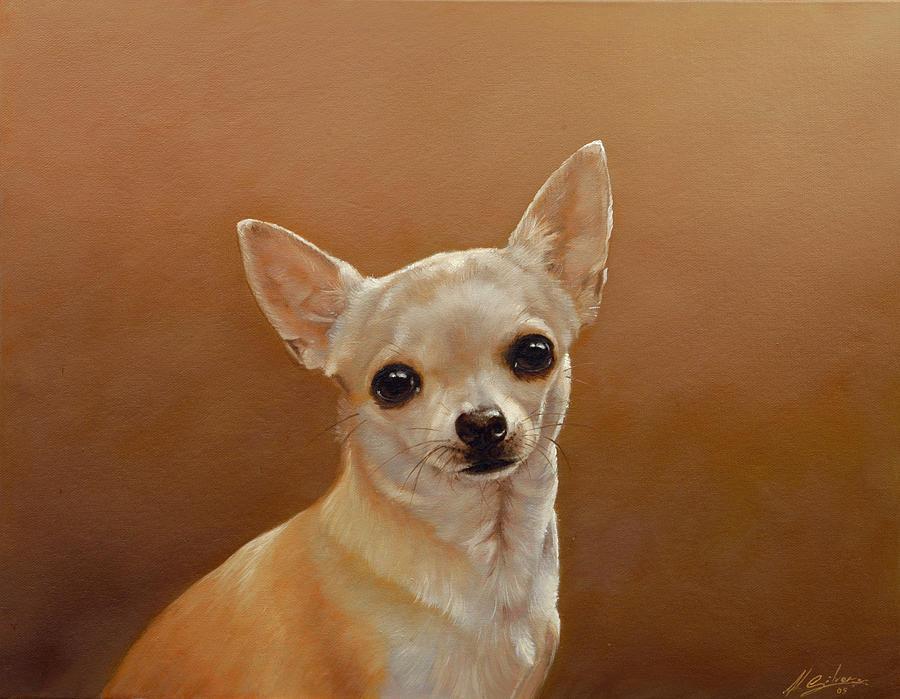Chihuahua Painting - Chihuahua I by John Silver