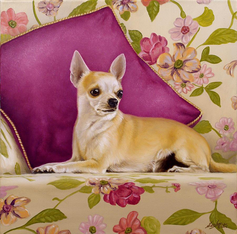 Chihuahua Painting - Chihuahua II by John Silver