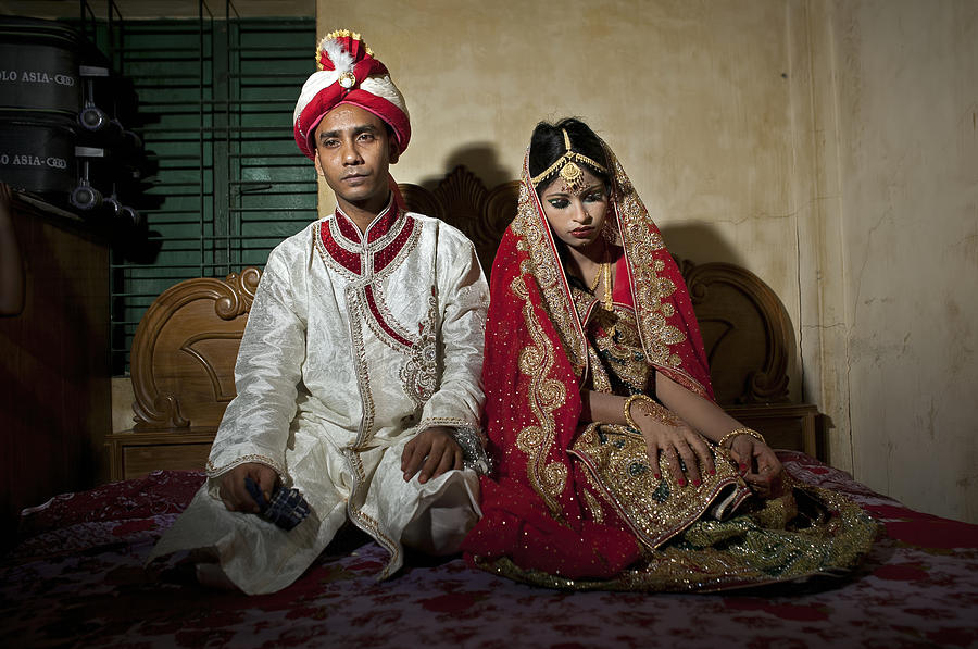 Child Marriage In Bangladesh Photograph by Allison Joyce