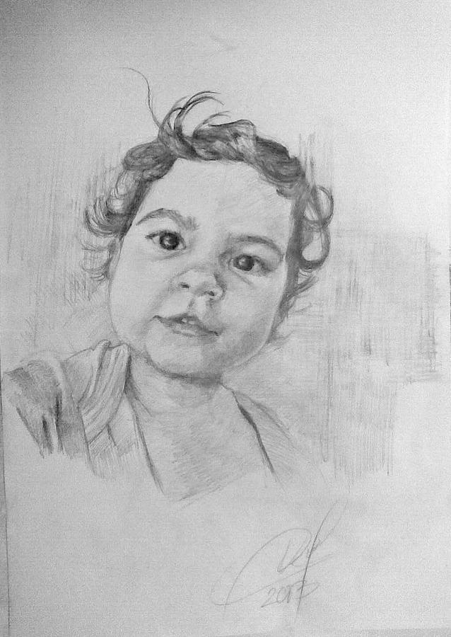Child Drawing by Vaidos Mihai