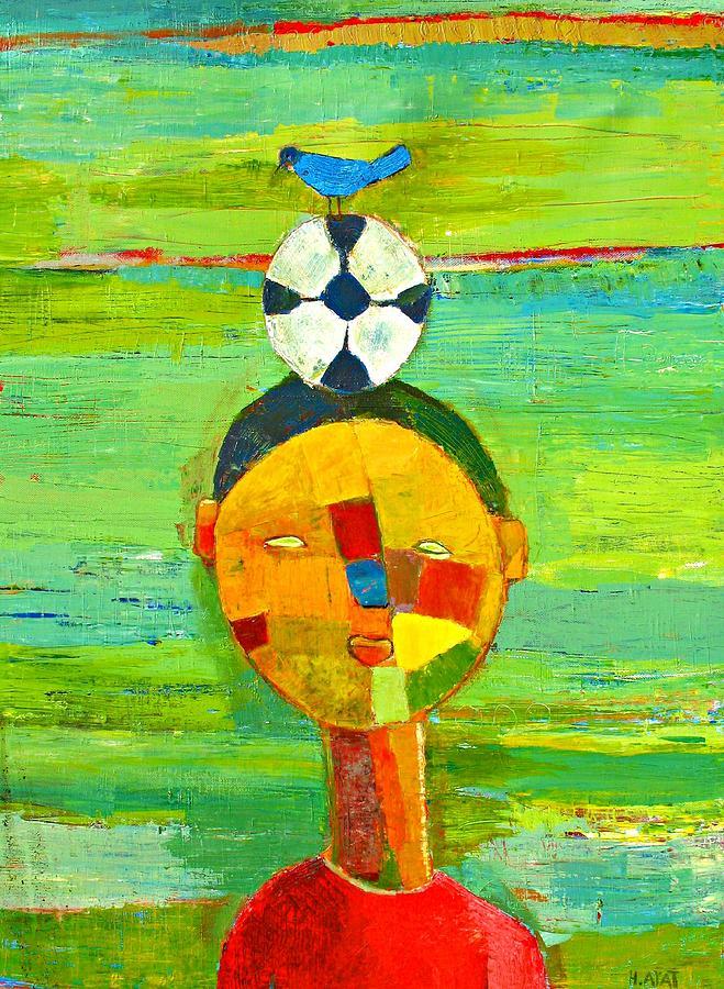 Childhood Painting - Childhood memories by Habib Ayat