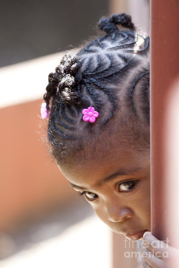 Girl Photograph - Childlike Curiosity by Heiko Koehrer-Wagner