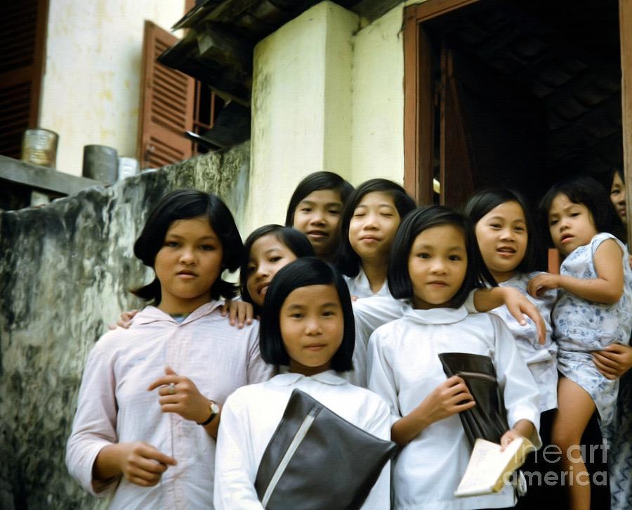 Vietnam Photograph - Children Of Hope by Mel Steinhauer