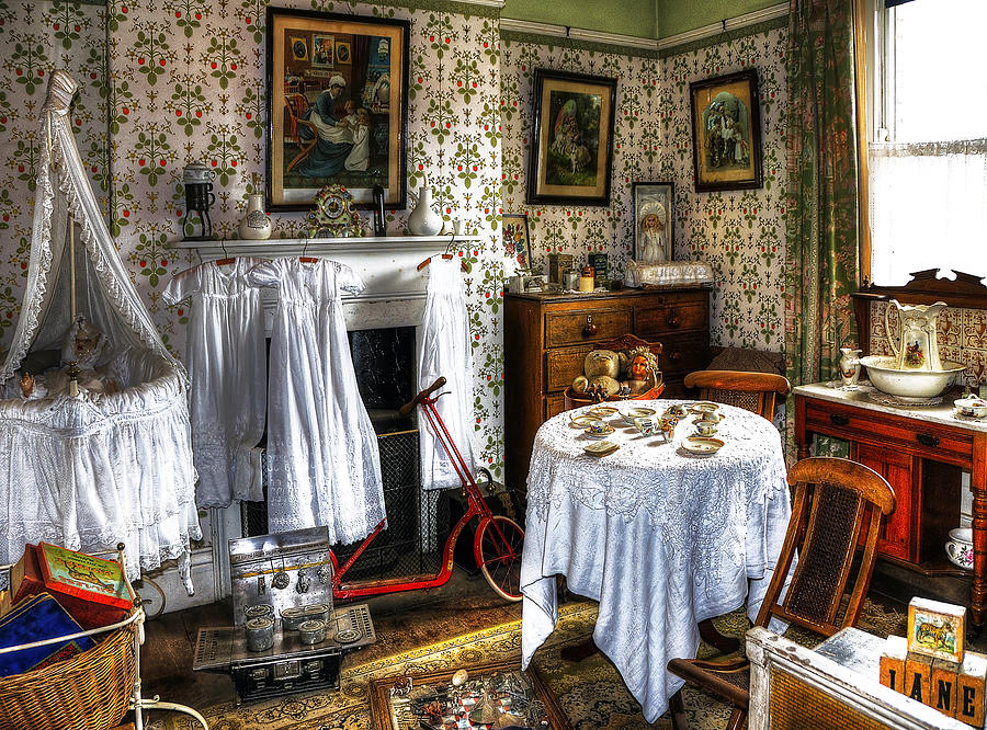 Beamish Photograph - Childrens Room by Svetlana Sewell