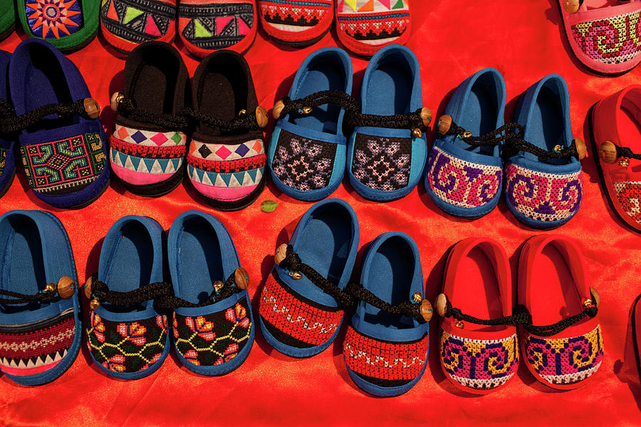 Childrens Shoes Photograph by Greenlin