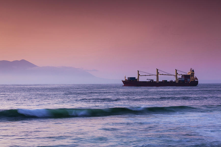 Chile, Antofagasta, Harbor And Port Photograph by Walter Bibikow
