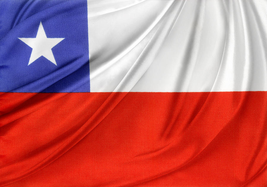 Flag Photograph - Chile Flag  by Les Cunliffe
