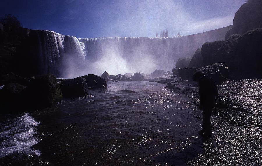Waterfalls Photograph - Chilean Waterfalls by Thomas D McManus