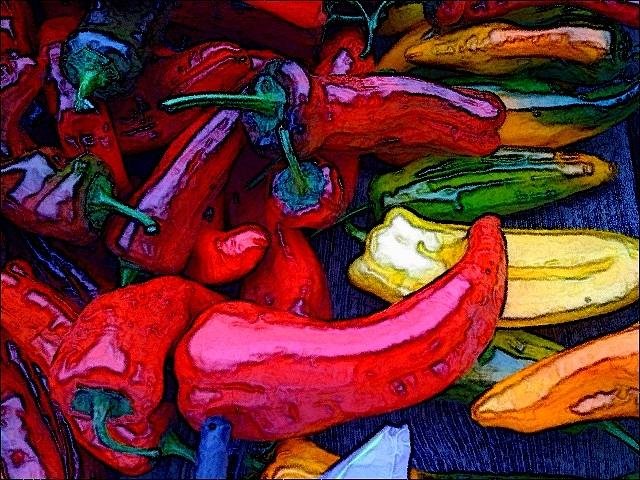 Chili Peppers Photograph - Chili Peppers by Colleen Renshaw