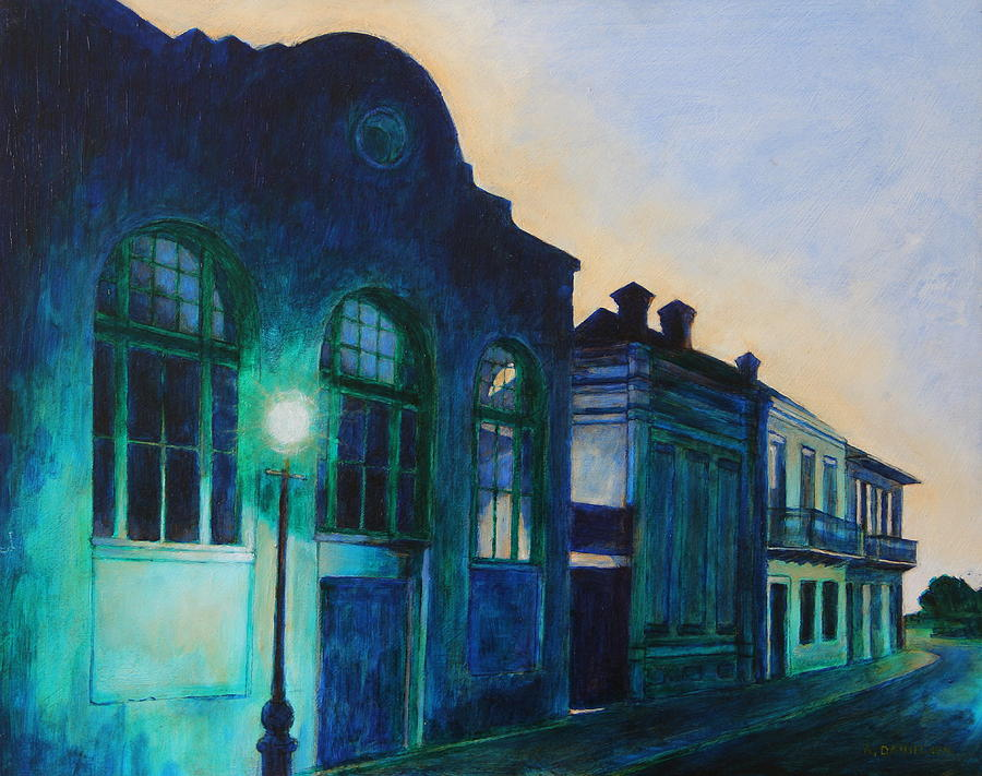 French Quarter Painting - Chilled by Andrew Danielsen