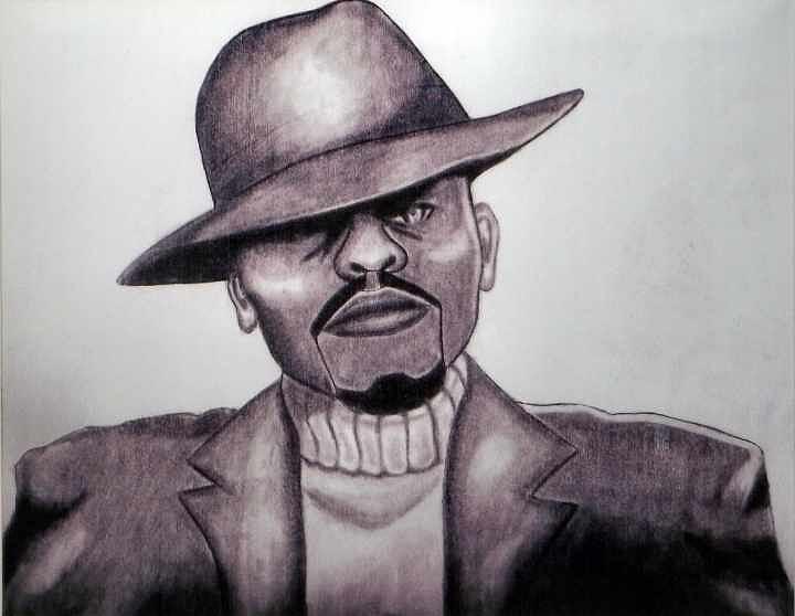 Man Drawing - Chillen by Cortney Haynes