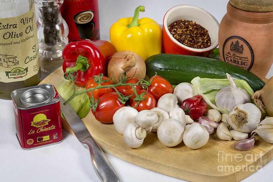Chilli Con Carne Photograph - Chilli Con Carne by Donald Davis