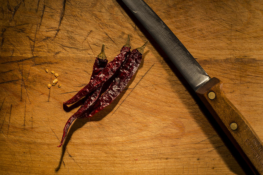 Andrew Pacheco Photograph - Chilli Peppers by Andrew Pacheco