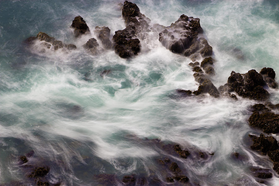 Background Photograph - Chimerical Ocean by Heidi Smith