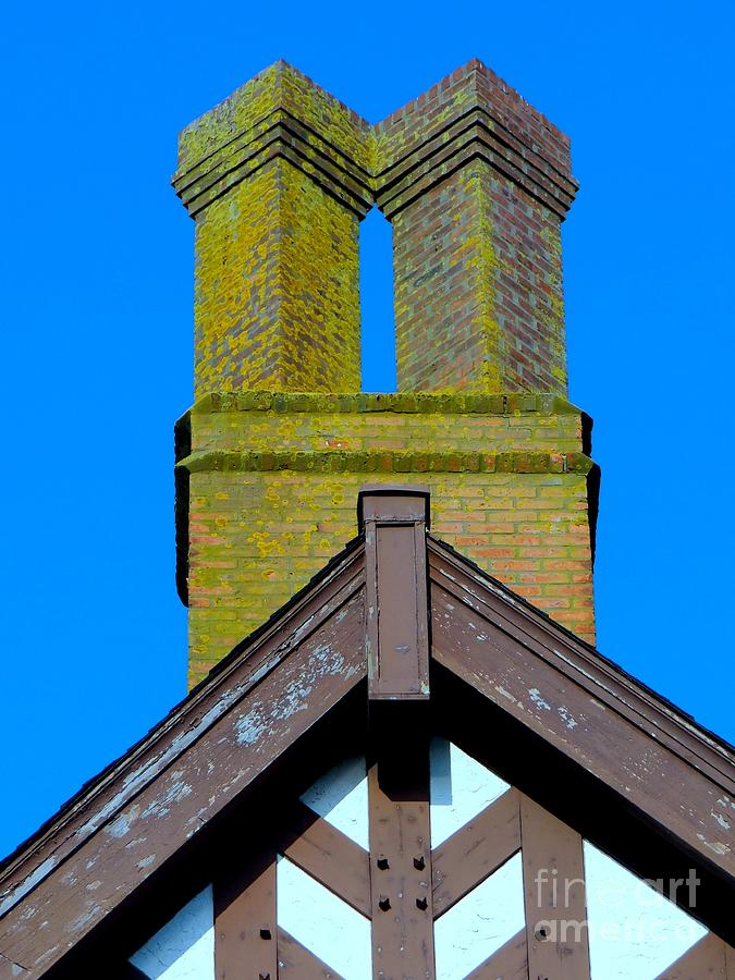 Abstract Photograph - Chimney Abstract by Ed Weidman