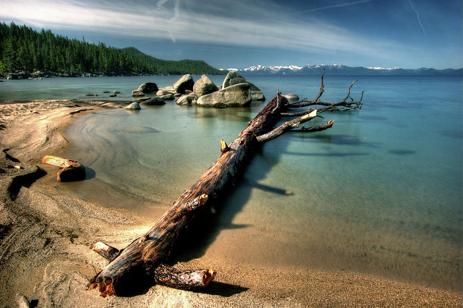 Chimney Beach, Lake Tahoe Photograph by Photo ©tan Yilmaz