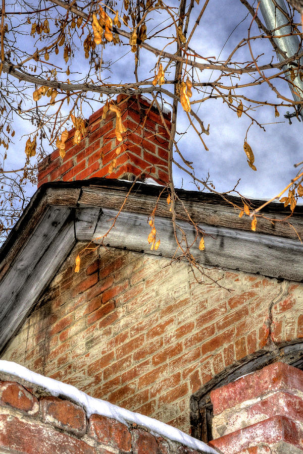 Chimney Old House 13144 Photograph