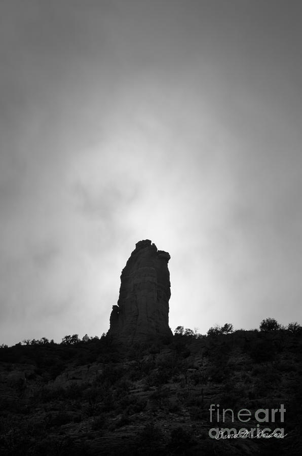 Chimney Photograph - Chimney Rock IIi by Dave Gordon