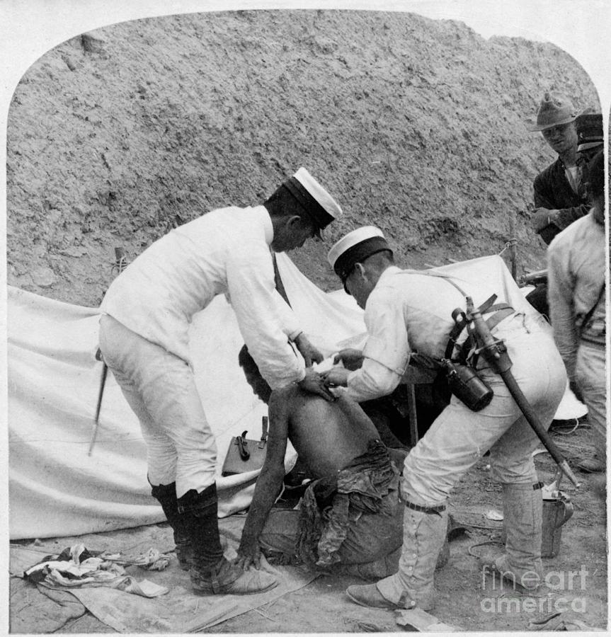 1901 Photograph - China: Boxer Rebellion, C1901 by Granger