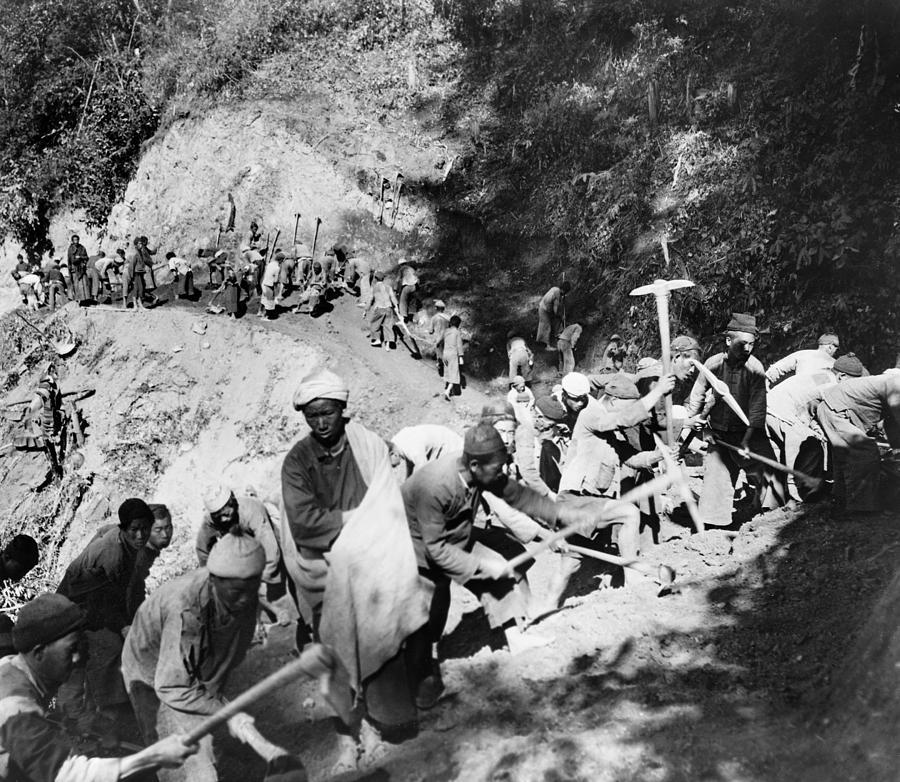 1944 Photograph - China Burma Road, 1944 by Granger