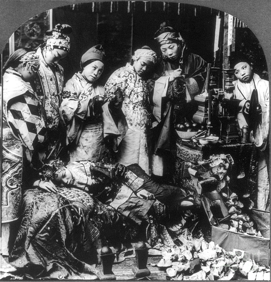1919 Photograph - China: Ceremony, C1919 by Granger