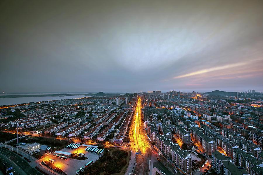 China Jiangsu Townscape Photograph by Wei Wei