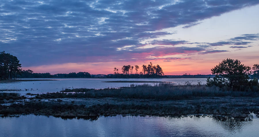 Chincoteague Wildlife Refuge Dawn by Photographic Arts And Design Studio