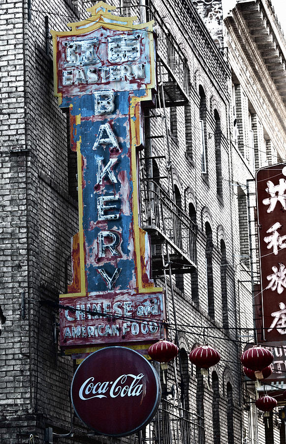 Architecture Photograph - Chinese Food And Coca Cola by Larry Butterworth