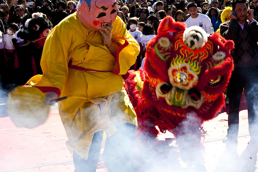 Chinese New Year Photograph - Chinese New Year by Mark Weaver