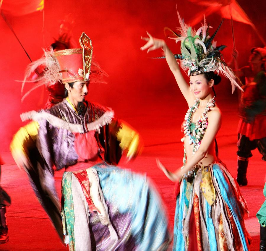Shenzhen China Photograph - Chinese Opera by  Jose Carlos Fernandes De Andrade