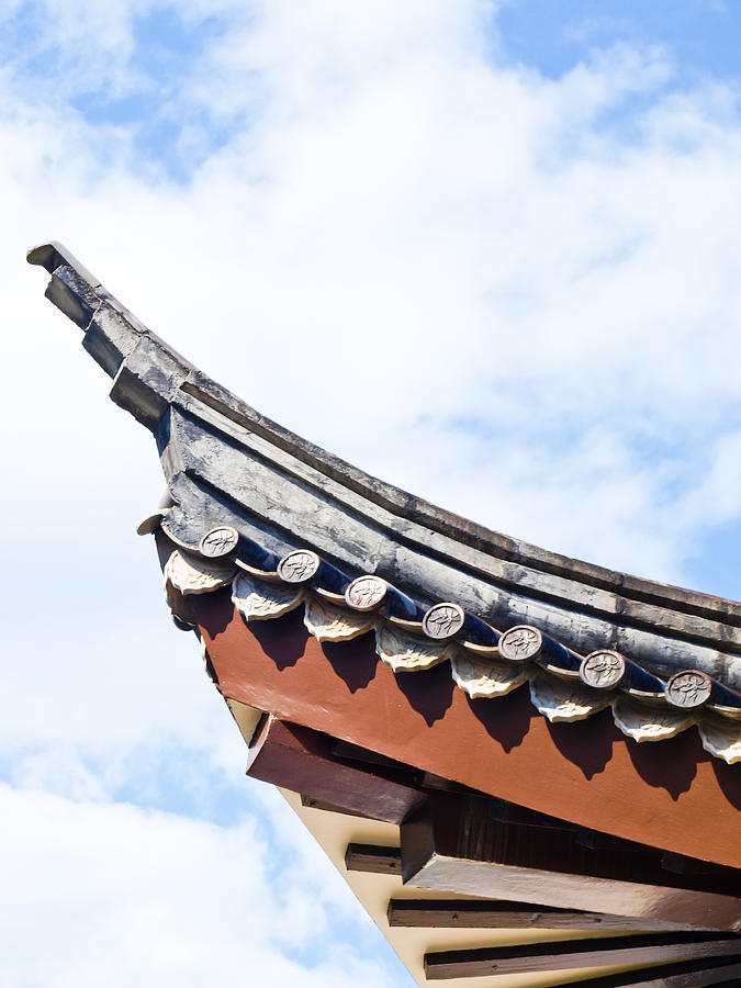 Chinese Roof Structure From Sirindhon Chinese Cultural