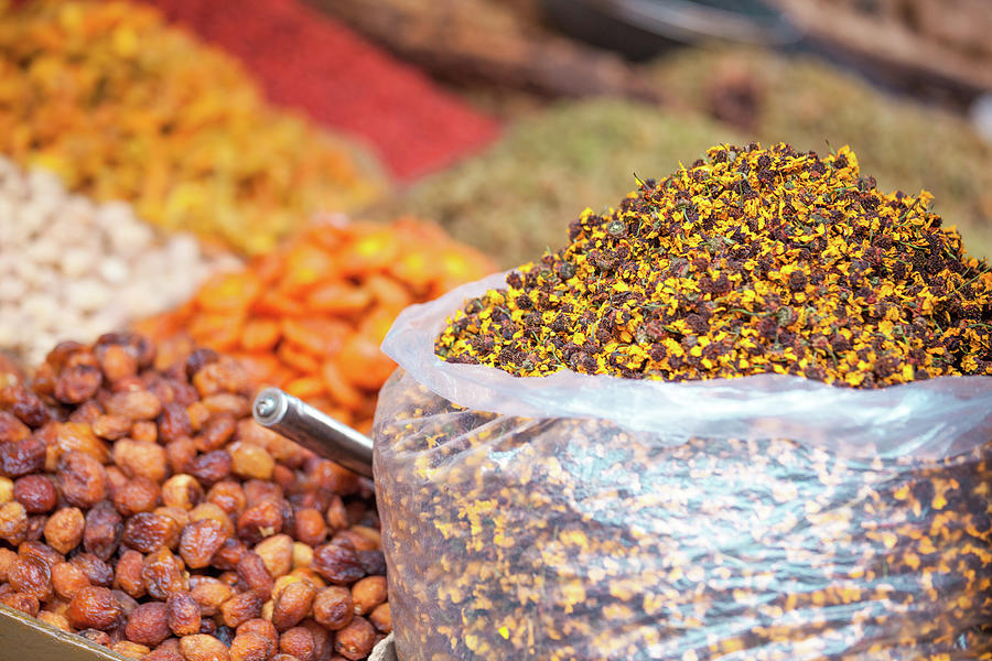 Chinese Tea And Spices At Local Street Photograph by Matteo Colombo