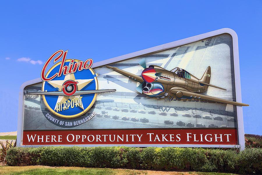 California Photograph - Chino Airport by Viktor Savchenko