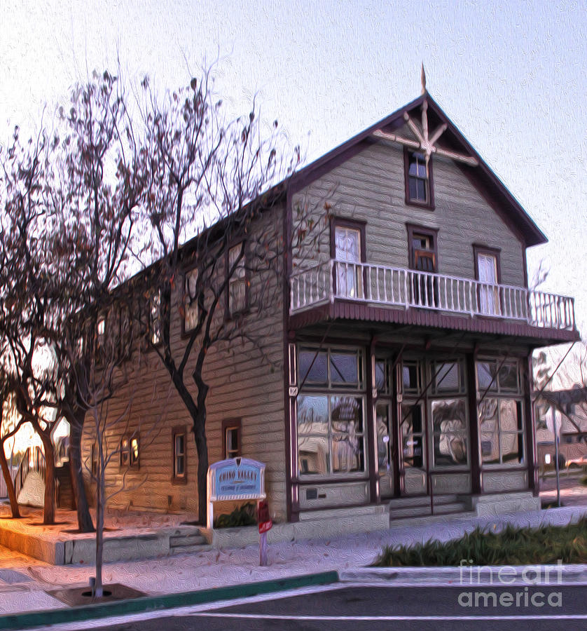 Chino Photograph - Chino Chamber Of Commerce - 01 by Gregory Dyer