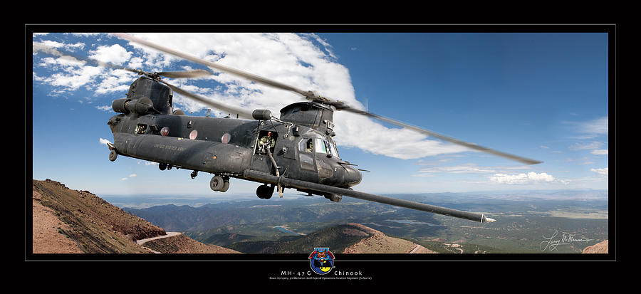 Army Helicopters Photograph - Chinook by Larry McManus