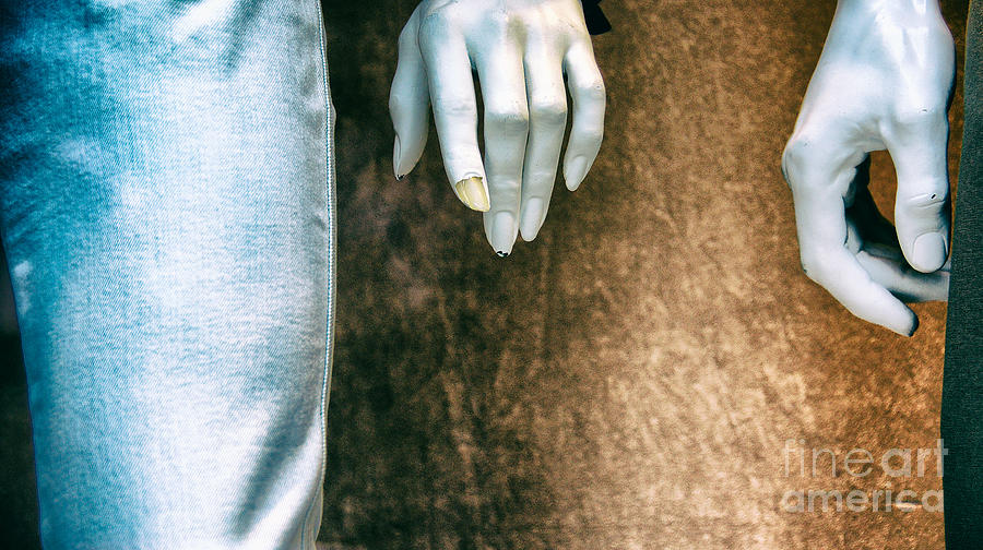 Mannequin Photograph - Chipped A Nail by Mark Thomas