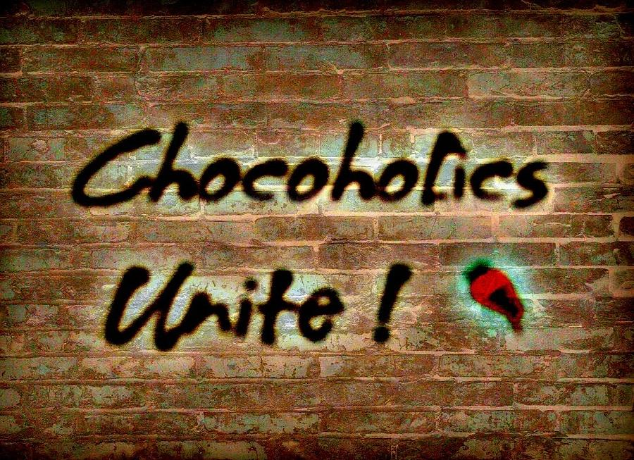 Chocolate Photograph - Chocoholics Unite by Lois Bailey