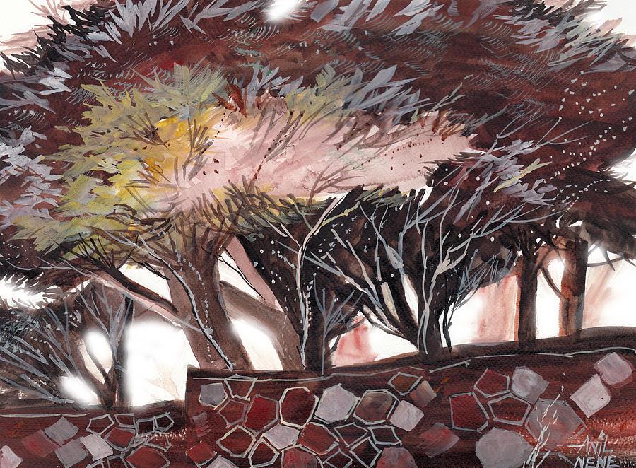 Dream Painting - Chocolate by Anil Nene