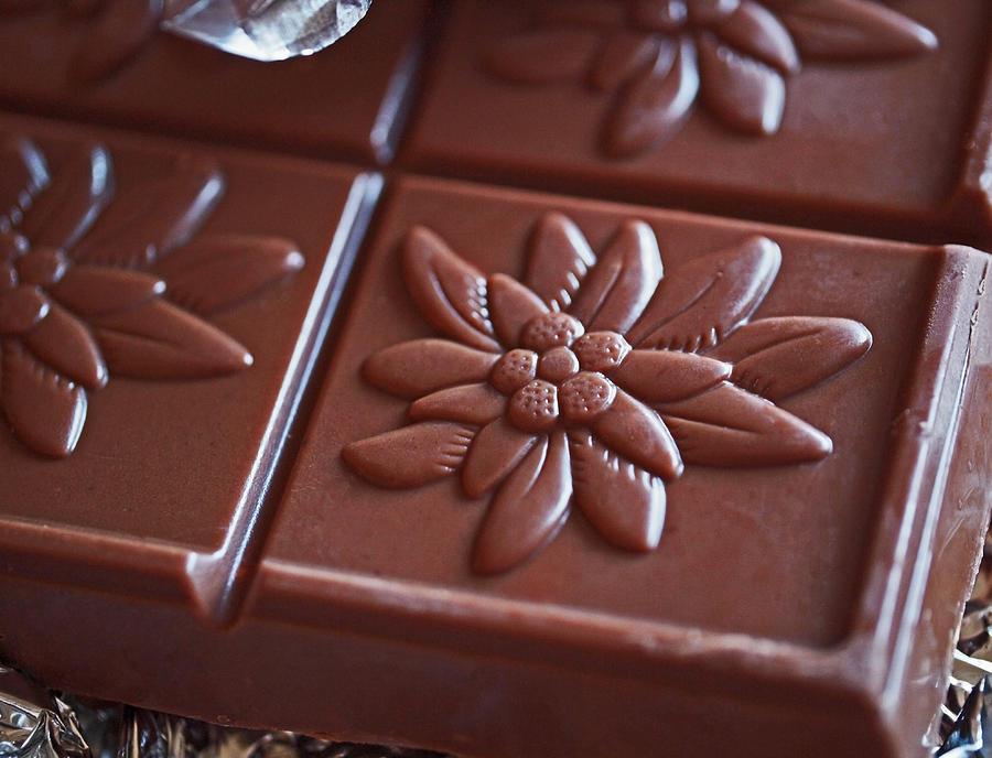 Chocolate Photograph - Chocolate Flower  by Rona Black