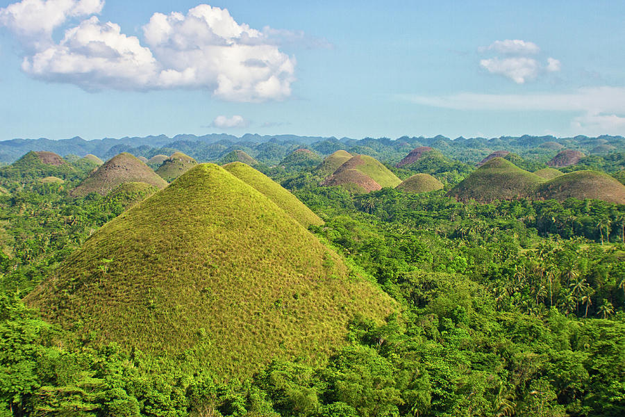 Chocolate Hills Photograph by Photography By Jeremy Villasis. Philippines.