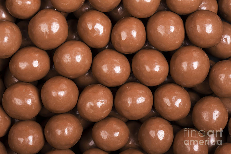 Background Photograph - Chocolate Sweet Background by Jane Rix