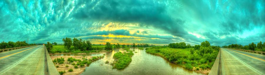 River Photograph - Choices by  Caleb McGinn
