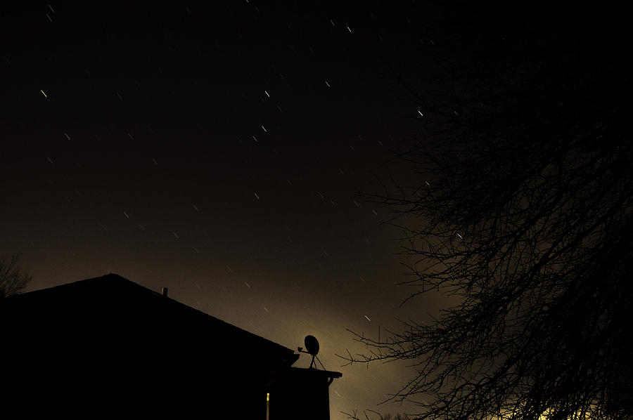 Nighttime Photograph - Choices by Nathan Seavey