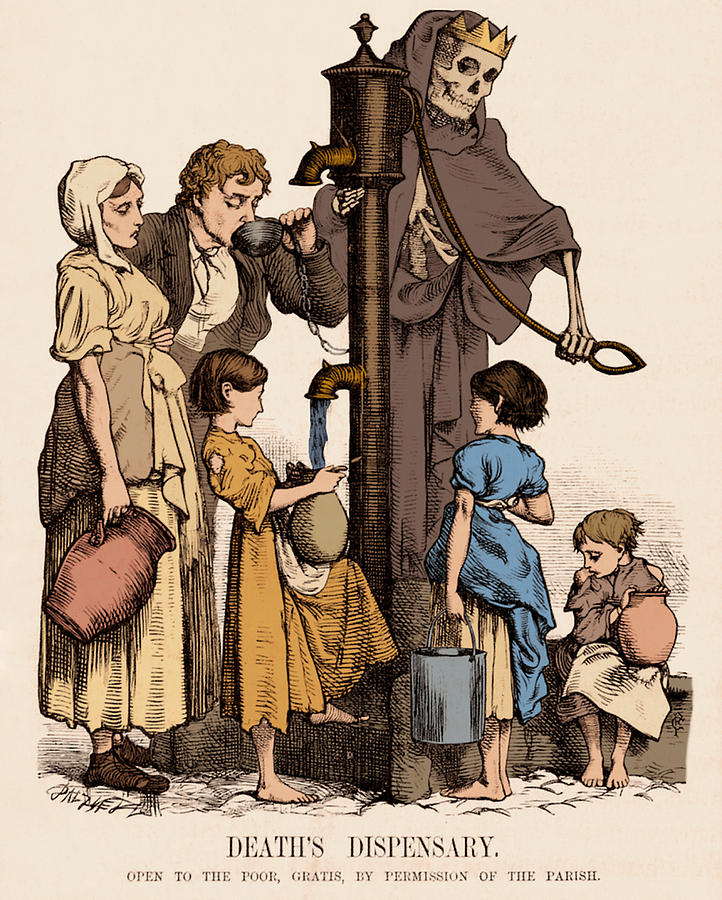Figura 3- allegoria del colera