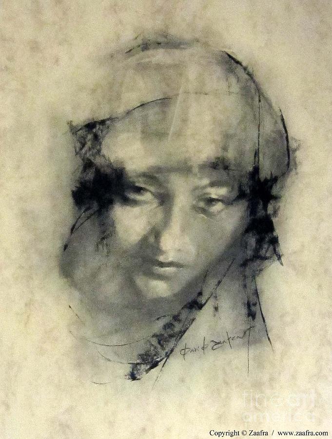 Arte Drawing - Chonchi by Zaafra David